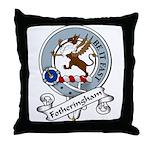 Fotheringham Clan Badge Throw Pillow
