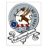 Fotheringham Clan Badge Small Poster