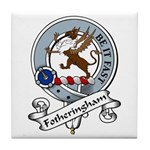 Fotheringham Clan Badge Tile Coaster