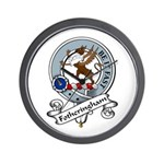 Fotheringham Clan Badge Wall Clock