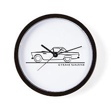 1955 Thunderbird Hardtop Wall Clock
