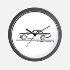 1955 Thunderbird Hardtop Wall Clock