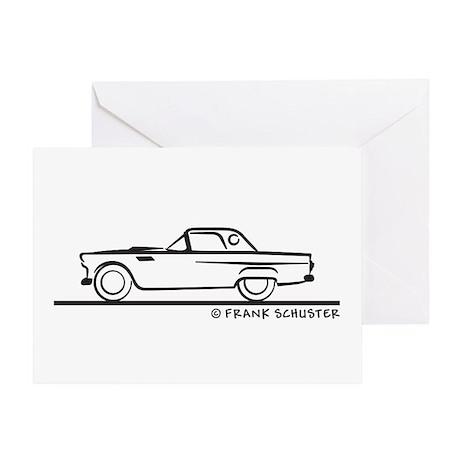 1955 Thunderbird Hardtop Greeting Card