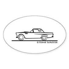 1955 Thunderbird Hardtop Decal