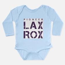 P-LAX ROX Long Sleeve Infant Bodysuit