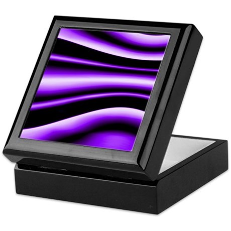 Purple Fantasy Keepsake Box