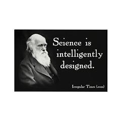 Darwin Science Rectangle Magnet