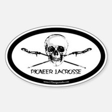 P-LAX Skull Decal
