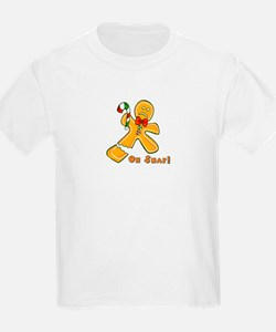 """Oh Snap!"" Ginger Bread Man T-Shirt"