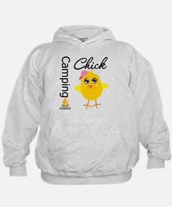 Camping Chick Hoodie