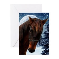 Quarter Horse Xmas Cards (Pk of 10)