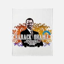 President Obama! Throw Blanket