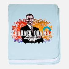 President Obama! baby blanket