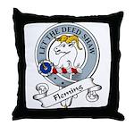 Fleming Clan Badge Throw Pillow