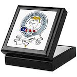 Fleming Clan Badge Keepsake Box