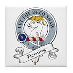 Fleming Clan Badge Tile Coaster
