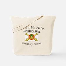 1st Bn 5th FA Tote Bag