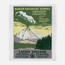 Lassen Volcanic National Park Throw Blanket