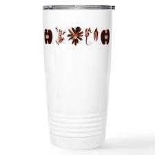 FRINGE Glyphs Travel Coffee Mug