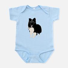 Shetland Sheepdog v4 Infant Bodysuit