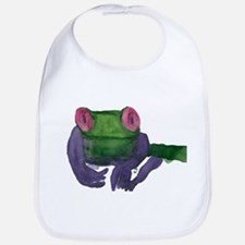 Thoughtful Frog Bib