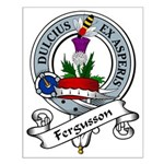 Fergusson Clan Badge Small Poster
