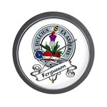 Fergusson Clan Badge Wall Clock
