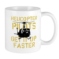Helicopter Pilots Get It Up F Small Mugs
