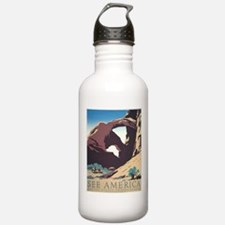 See America Natural Arches Water Bottle