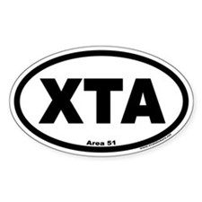 Area 51 XTA Euro Oval Decal