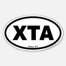 Area 51 XTA Euro Oval Decal