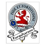 Farquharson Clan Badge Small Poster