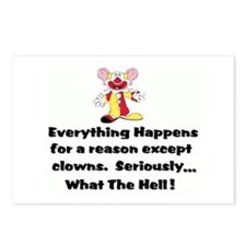 Everything happens for a reas Postcards (Package o