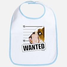 Bulldog Wanted Bib