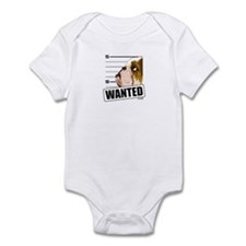 Bulldog Wanted Infant Bodysuit