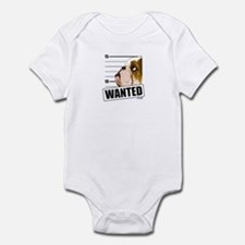 Bulldog Wanted Infant Bodysuit