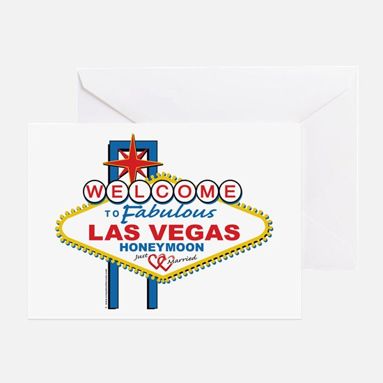 Welcome To Fabulous Las Veags Honeymoon Greeting C