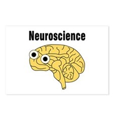 Neuroscience Brain Postcards (Package of 8)