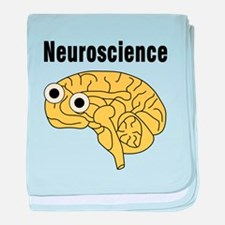 Neuroscience Brain baby blanket