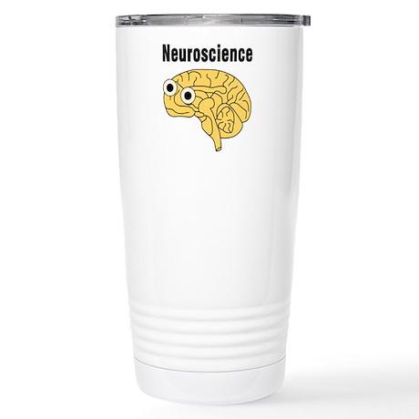 Neuroscience Brain Stainless Steel Travel Mug
