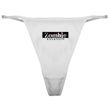 Zombie Assassin Classic Thong