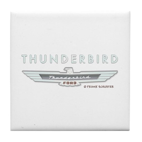 Thunderbird Emblem Tile Coaster