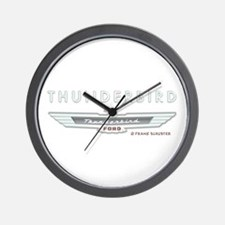 Thunderbird Emblem Wall Clock