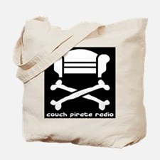 Couch Pirate Tote Bag