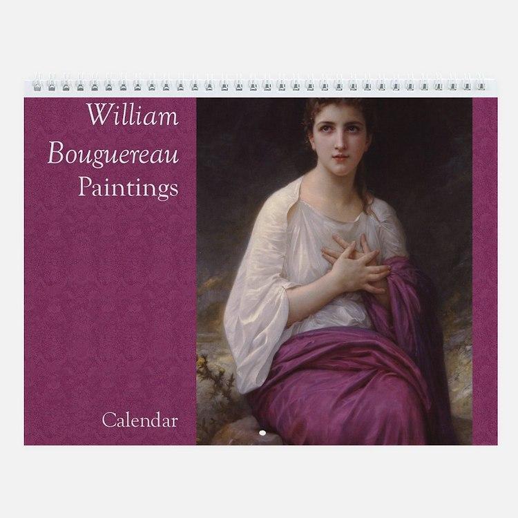 Bouguereau Art Wall Calendar