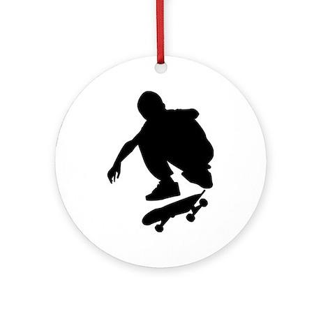 Skate On Ornament (Round)