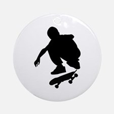 Skate On Ornament (Round)