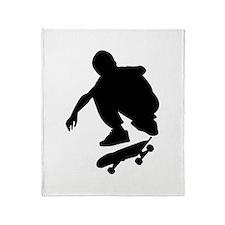 Skate On Throw Blanket