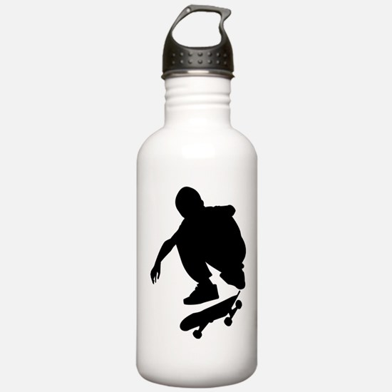 Skate On Water Bottle