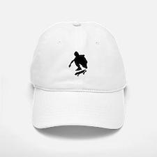 Skate On Baseball Baseball Cap